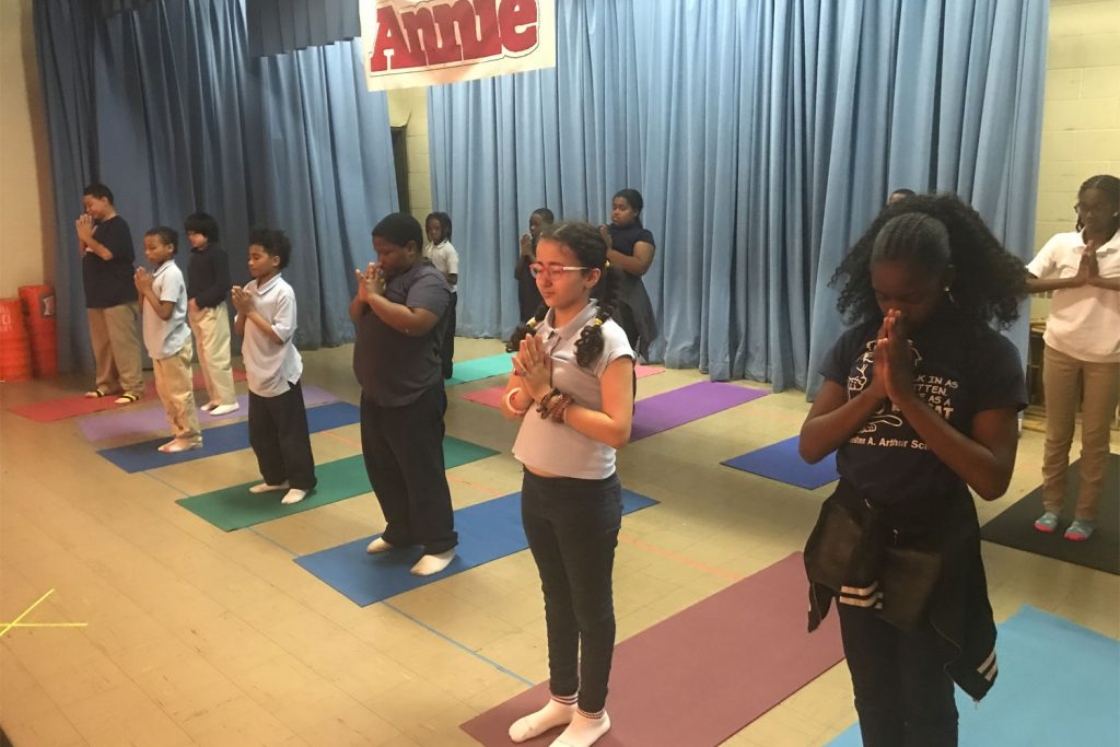 After School Yoga at Harding Elementary